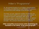 hitler s programme33