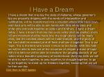 i have a dream22