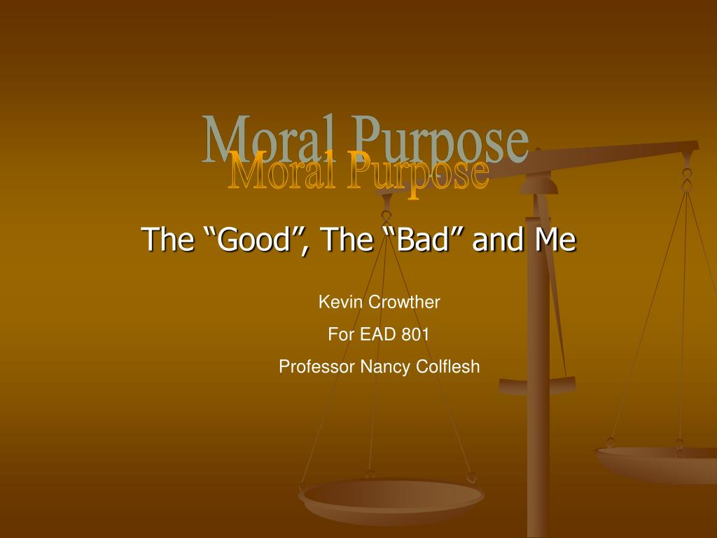 the good the bad and me l.