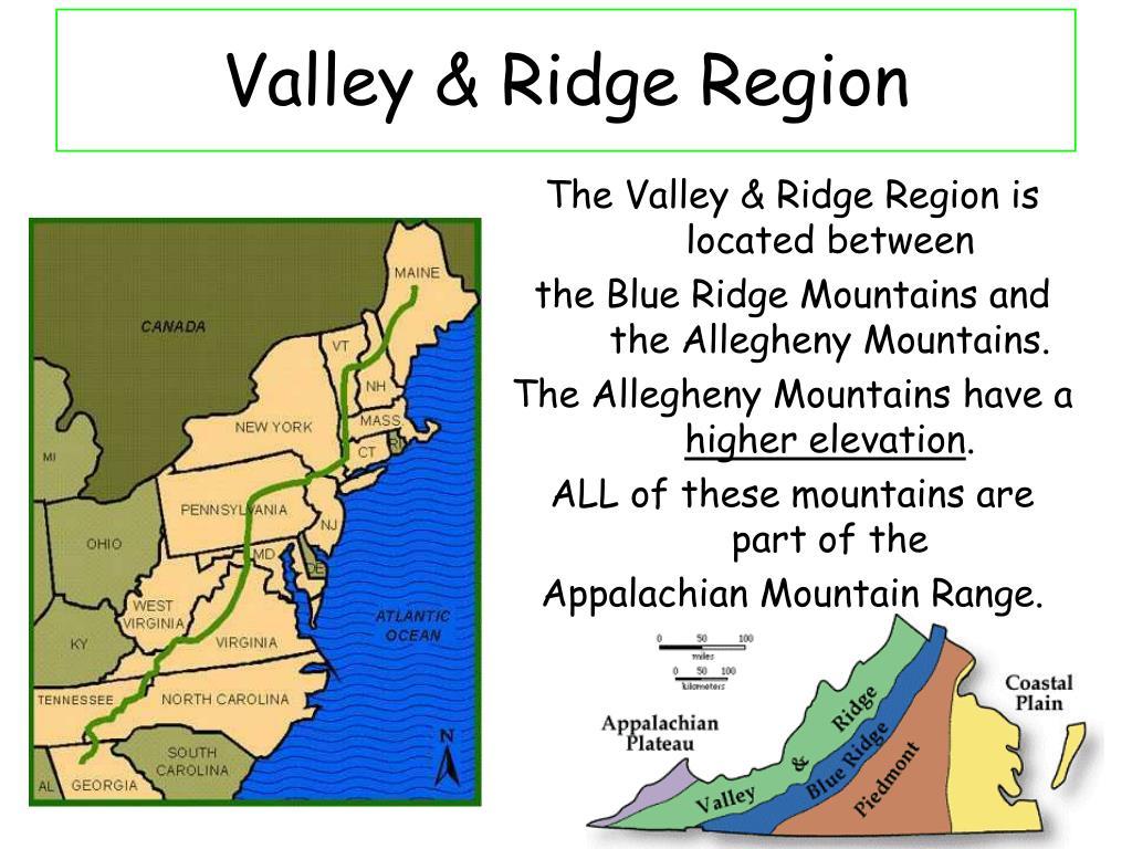 valley ridge region l.
