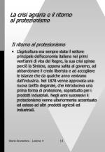 la crisi agraria e il ritorno al protezionismo13