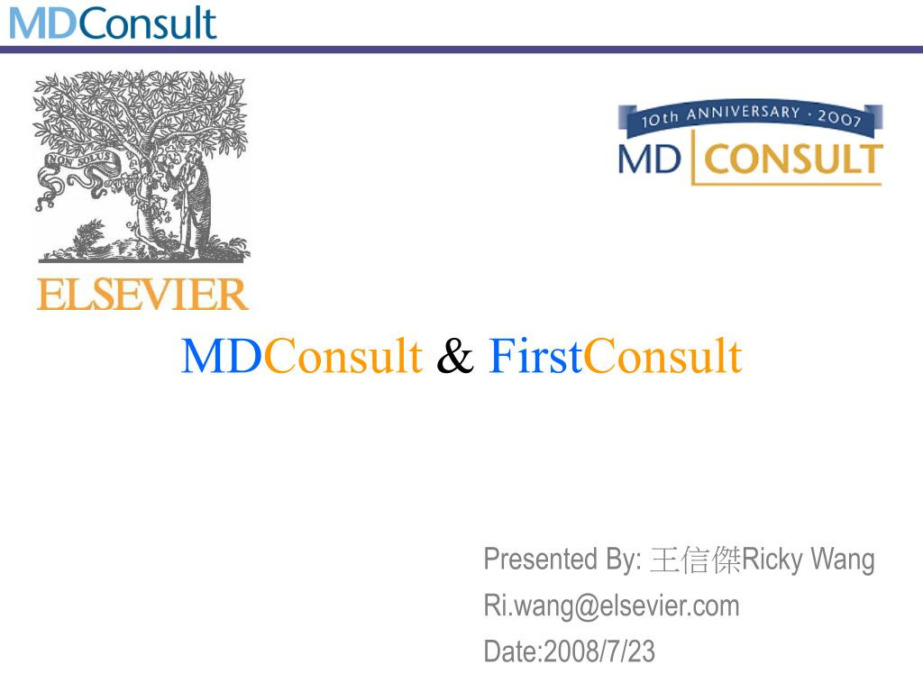 md consult first consult l.