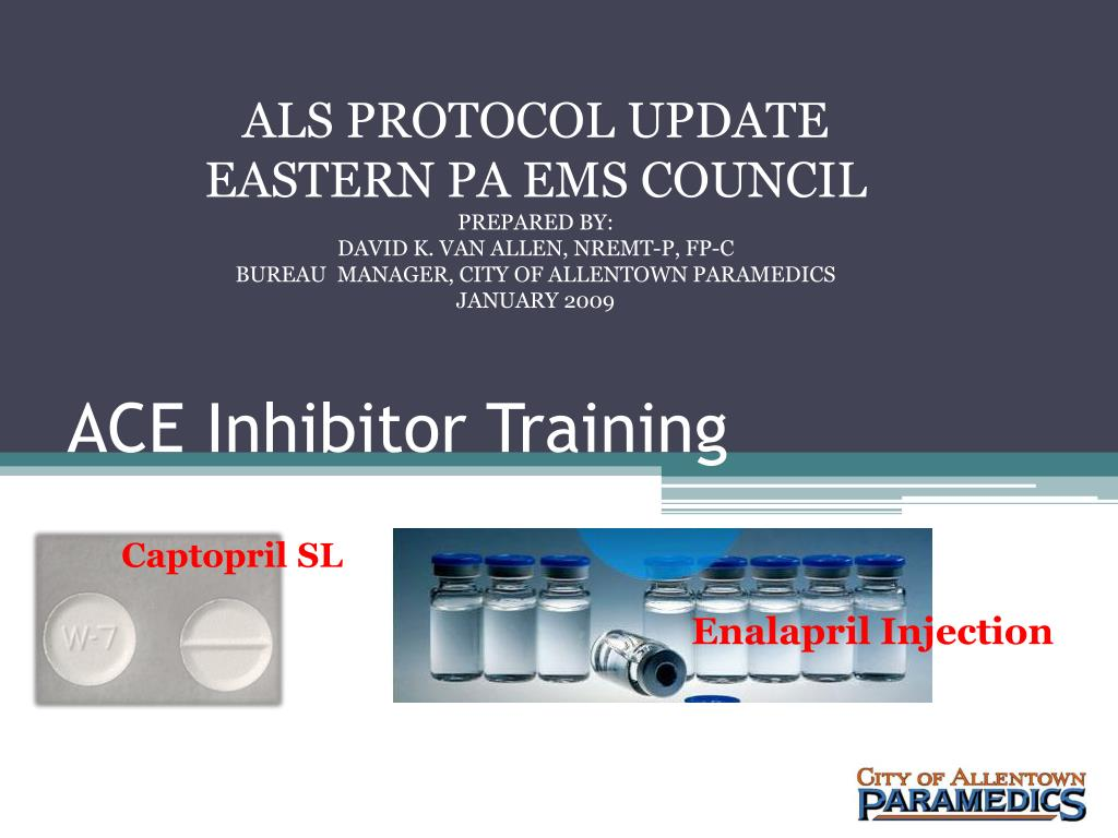 ace inhibitor training l.