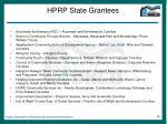 hprp state grantees