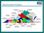 weatherization providers