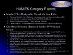 humies category e cont