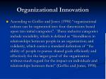 organizational innovation9