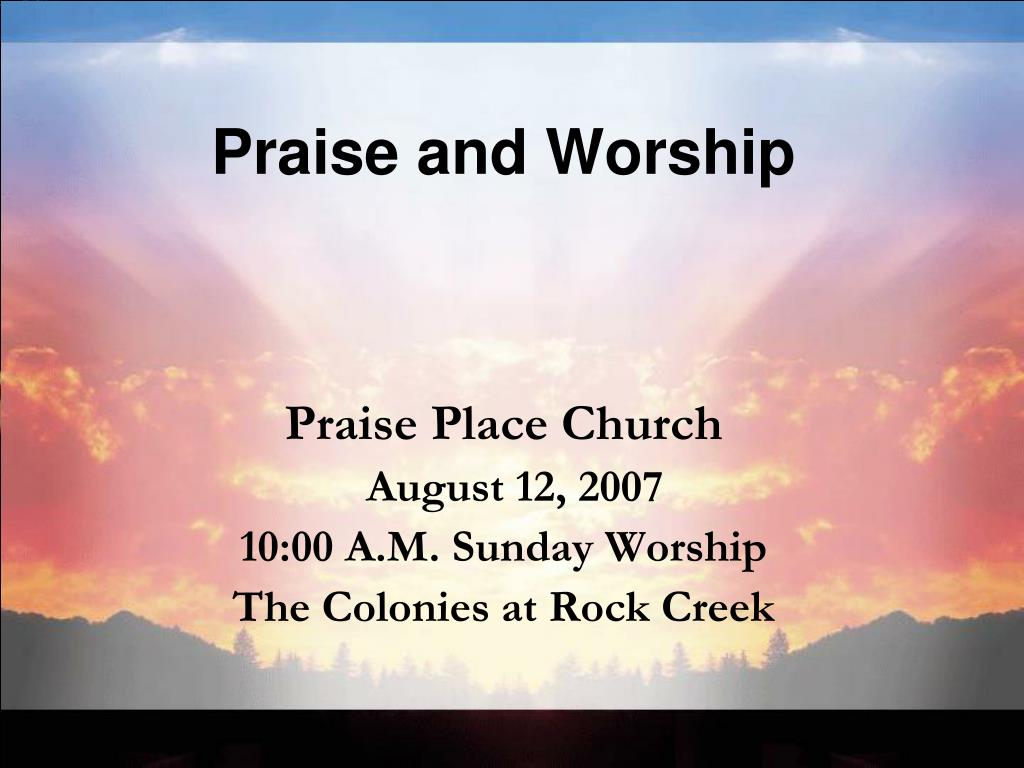 praise and worship l.