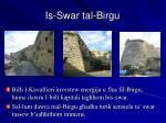 is swar tal birgu