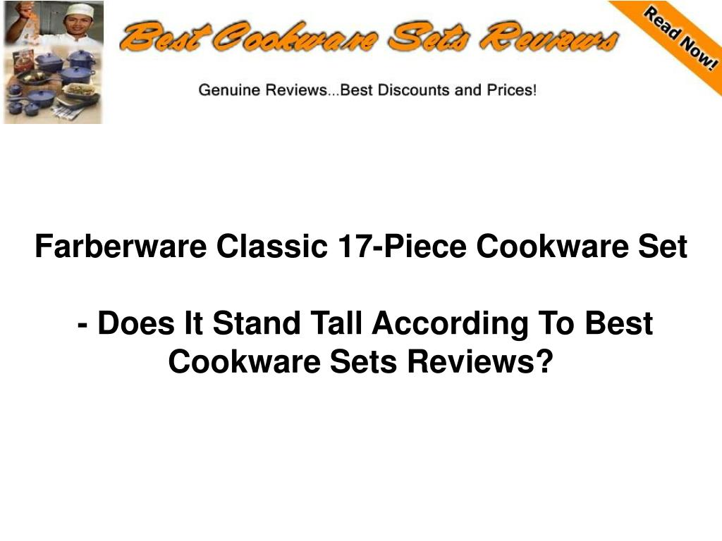 farberware classic 17 piece cookware set does it stand tall according to best cookware sets reviews l.