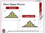 three sigma process