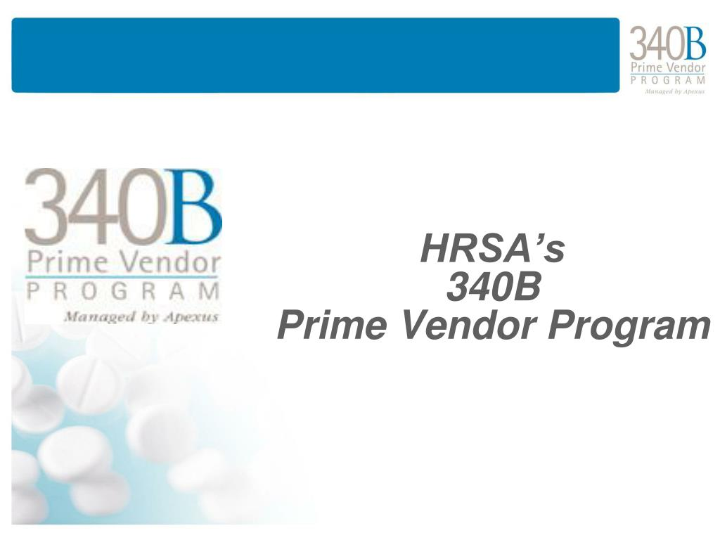 hrsa s 340b prime vendor program l.