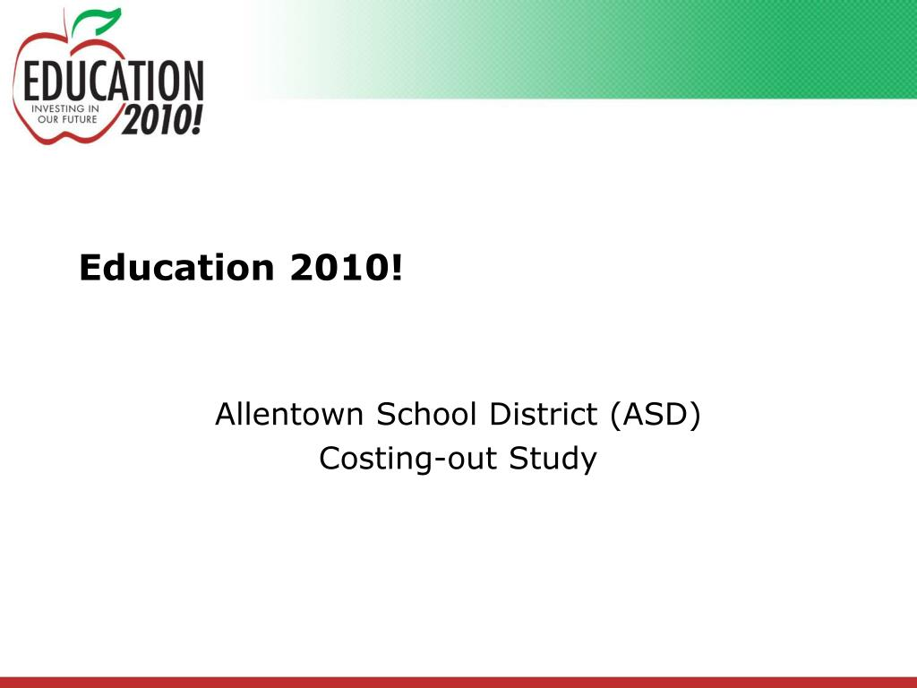 education 2010 l.
