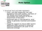 state option