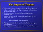 the impact of trauma6