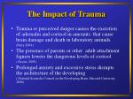 the impact of trauma7