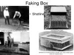 faking box