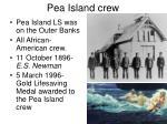 pea island crew
