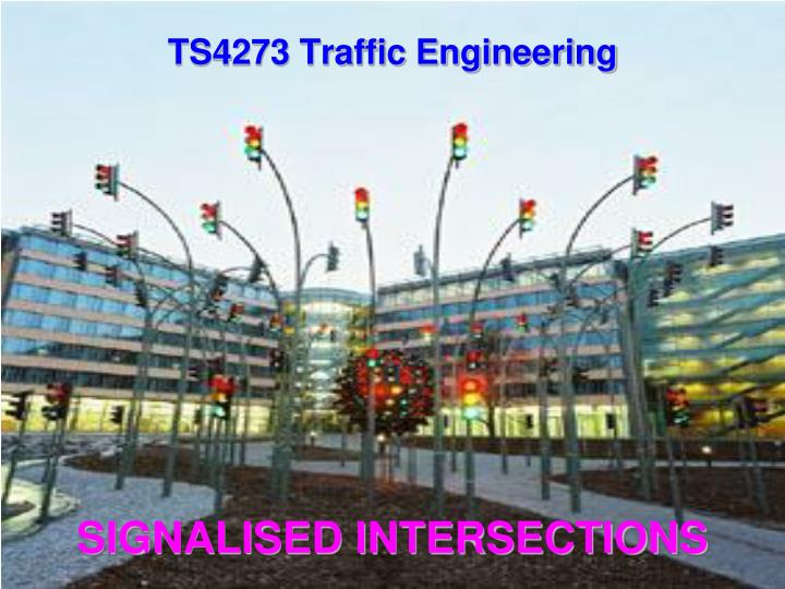 signalised intersections n.
