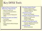 key dfss tools