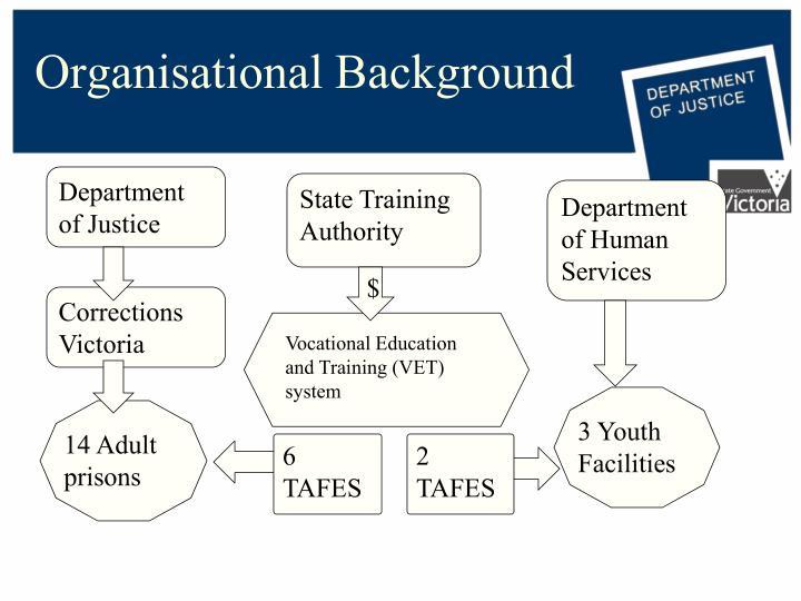 Organisational background