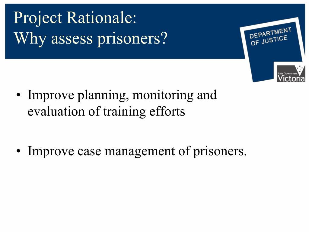 Project Rationale: