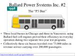 ballard power systems inc 2