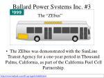 ballard power systems inc 3