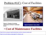 problem 1 c cost of facilities19