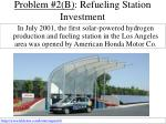 problem 2 b refueling station investment36