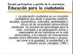 escuela participativa y gesti n de la convivencia educaci n para la ciudadan a6