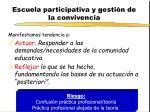 escuela participativa y gesti n de la convivencia3