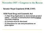 november 1937 congress to the rescue