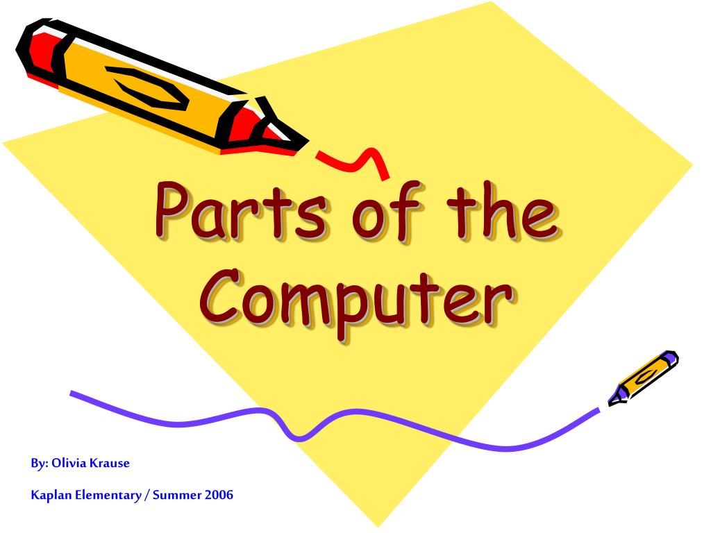 parts of the computer l.