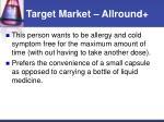 target market allround16