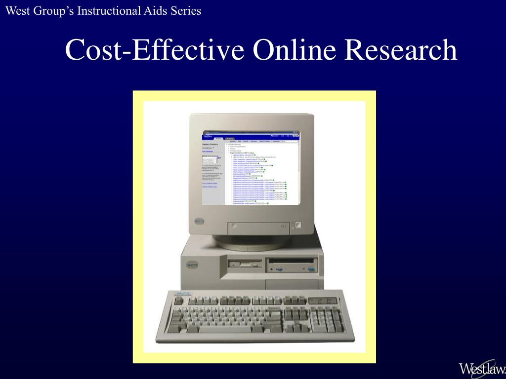 cost effective online research l.