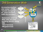 3rd generation web