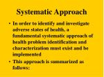 systematic approach18