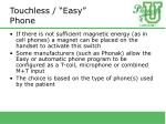 touchless easy phone24