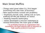 main street muffins