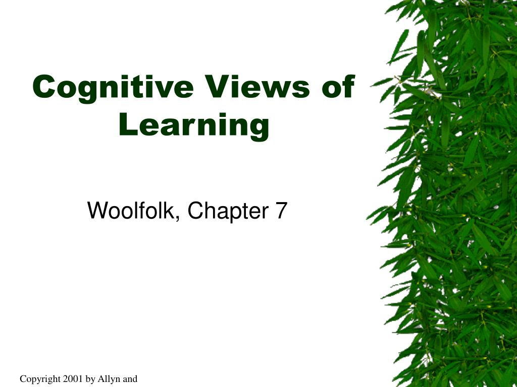 cognitive views of learning l.