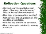 reflection questions34