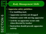 body management skills3