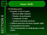 game skills27