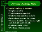 personal challenge skills24