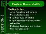 rhythmic movement skills11