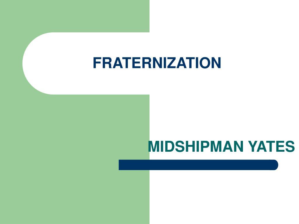 fraternization l.