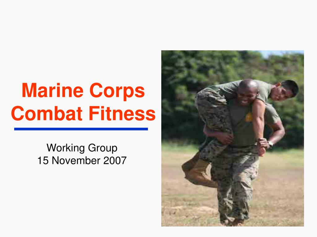 marine corps combat fitness l.