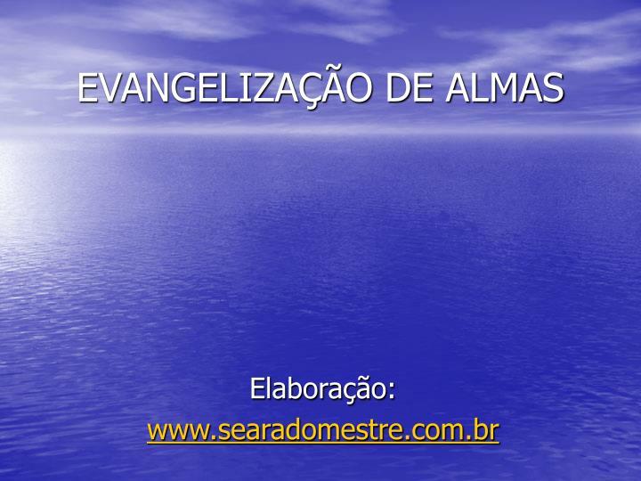 Evangeliza o de almas