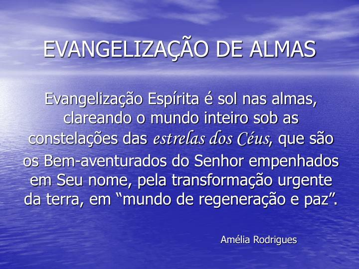 Evangeliza o de almas2